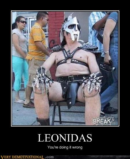 Leonidas Let Himself Go