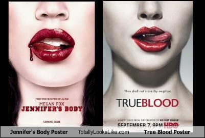 Jennifer's Body Poster Totally Looks Like True Blood Poster