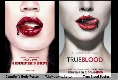 Jennifer's Body Poster Totally Looks Like True Blood Poster