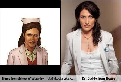 dr-cuddy,games,House MD,lisa edelstein,nurse,school of wizardry,TV