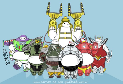 This Artist Has Great Ideas for Alternate Baymax Armor