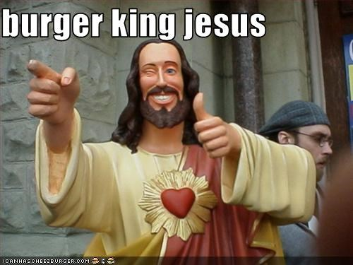burger king jesus