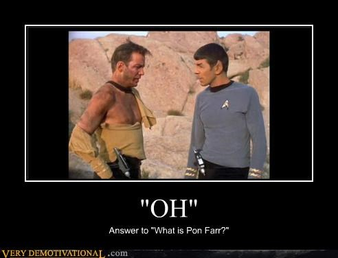 That's a Pretty Solid Answer Spock