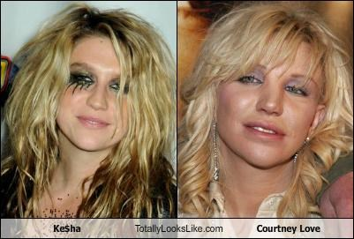 Ke$ha Totally Looks Like Courtney Love