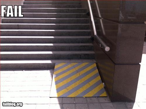 bad idea,failboat,g rated,ineffective,ramp stairs