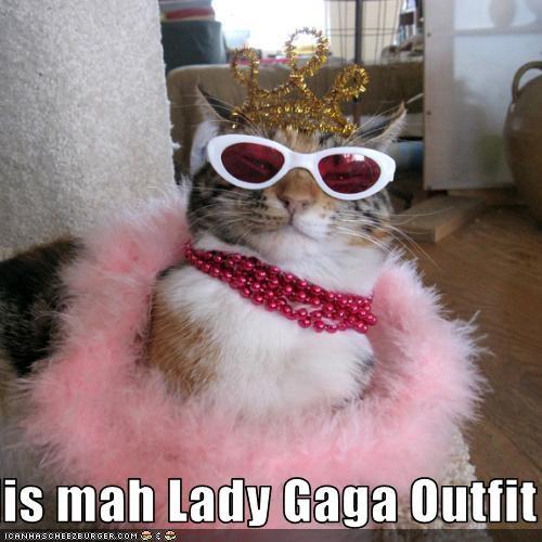 dis mah Lady Gaga Outfit