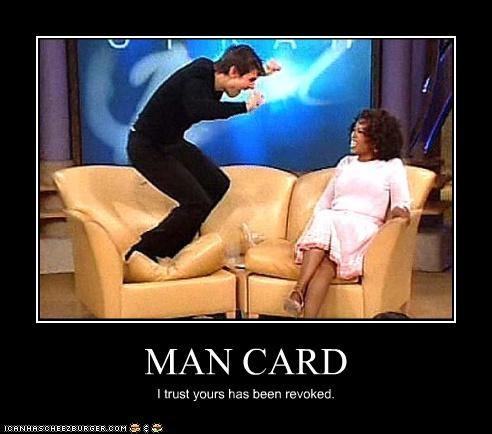 actor,crazy,FAIL,manly,Oprah Winfrey,talk show,Tom Cruise