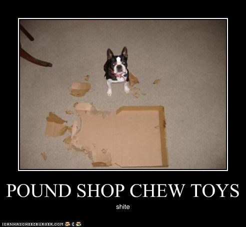 POUND SHOP CHEW TOYS
