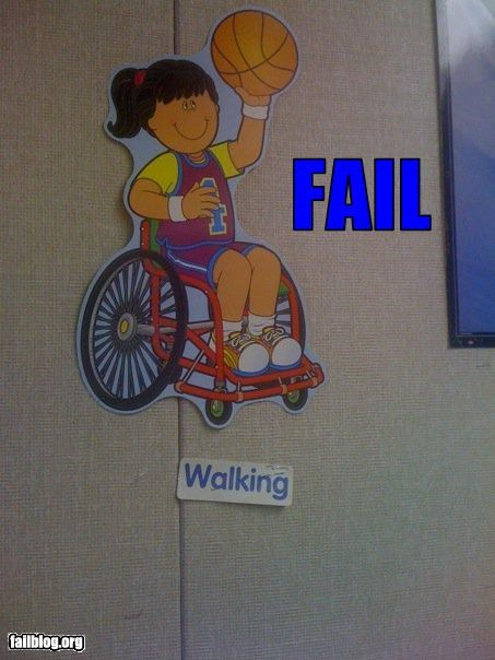 Walking Fail