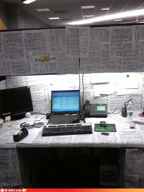 Posted Notes Desk