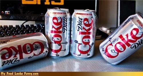 coke,diet coke,drink,imagination,lettering,marker,ninja