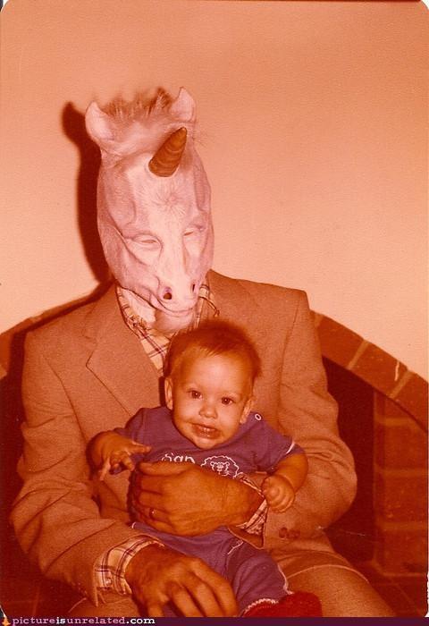 costume,kids,mask,scary,vintage,wtf