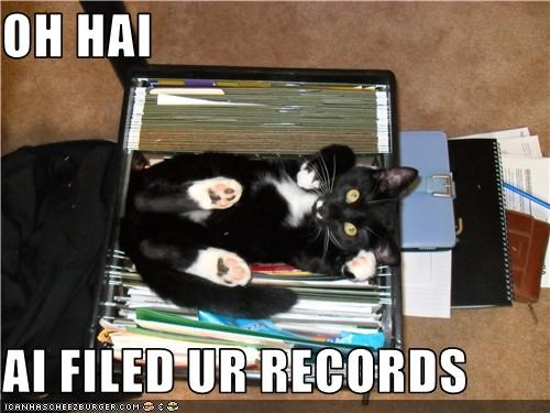OH HAI  AI FILED UR RECORDS