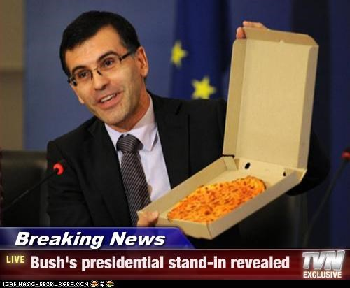 Breaking News - Bush's presidential stand-in revealed