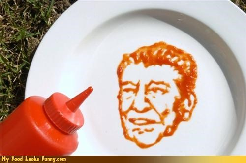 condiment presidents,condiments,ketchup,president reagan,reagan,Ronald Reagan,US Presidents