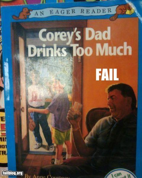 alcoholic,book,failboat,g rated,kids
