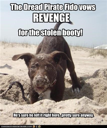 The Dread Pirate Fido vows