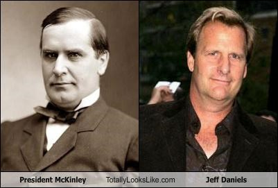 President McKinley Totally Looks Like Jeff Daniels