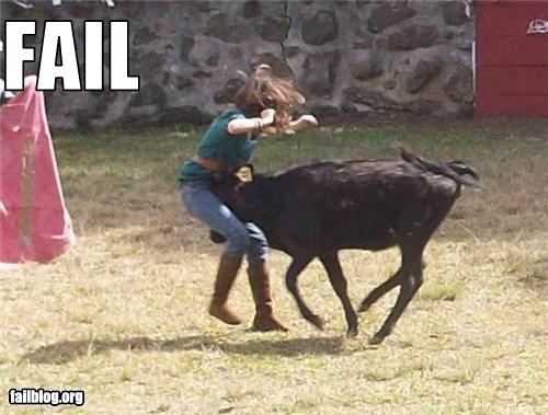Bullfighting Fail