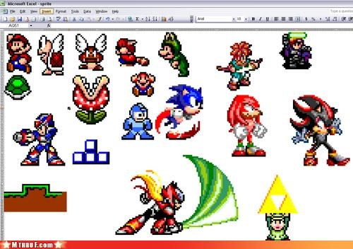 Excel At Making Videogame Characters