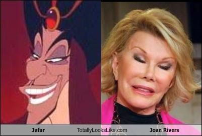Jafar Totally Looks Like Joan Rivers