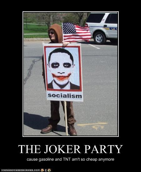 THE JOKER PARTY
