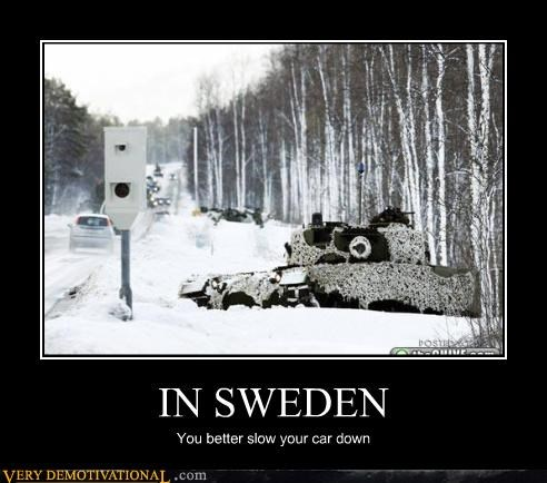 The Swedes Don't Drive Well