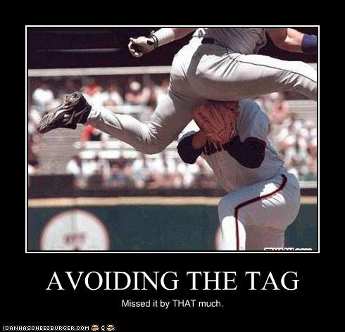 AVOIDING THE TAG