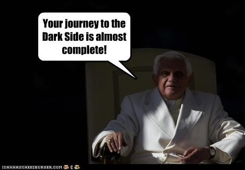 Your journey to the Dark Side is almost complete!