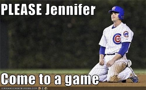 PLEASE Jennifer  Come to a game