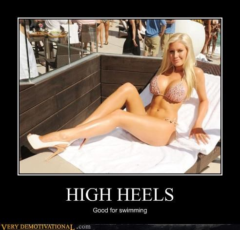 So That's What High Heels Are For