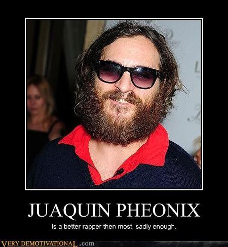 Joaquin Phoenix,fact,rapper