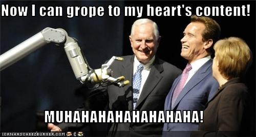 Now I can grope to my heart's content!  MUHAHAHAHAHAHAHAHA!