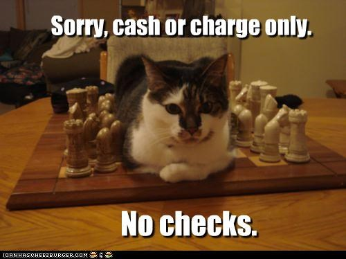 Sorry, cash or charge only.