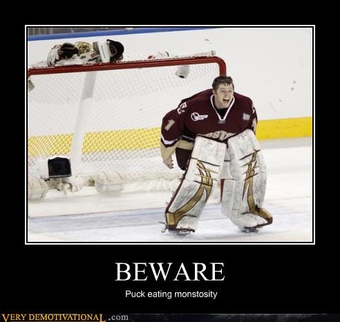 The Scariest Man in Hockey