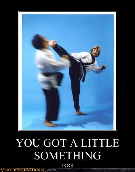 ouch,kick,face,chuck norris