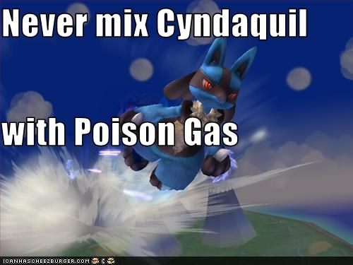 Never mix Cyndaquil with Poison Gas