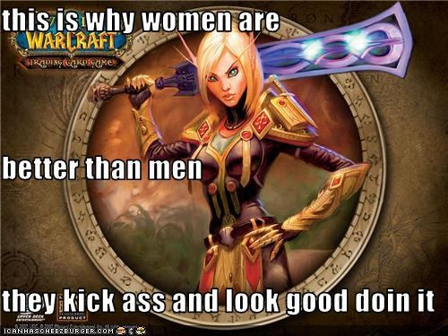 this is why women are better than men they kick ass and look good doin it