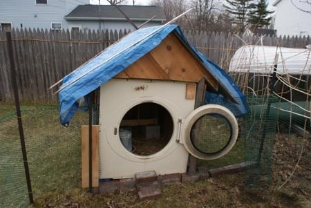 doghouse,dryer,outside,recycling-is-good-right,use what you have