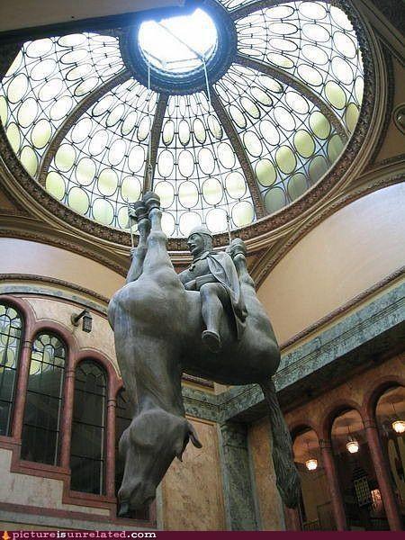 art,europe,horse,statue,wtf