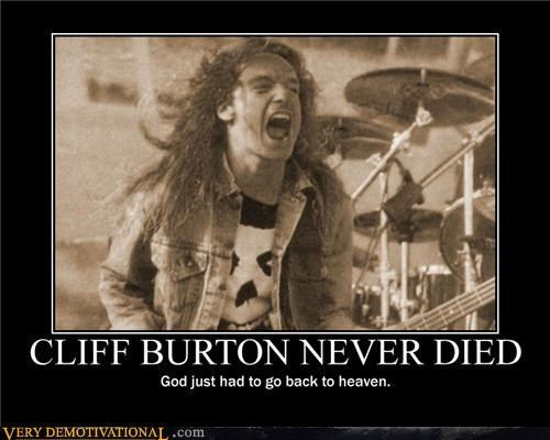 CLIFF BURTON NEVER DIED