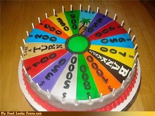 big money,cake,game shows,pat sajak,prizes,Sweet Treats,wheel,wheel of fortune
