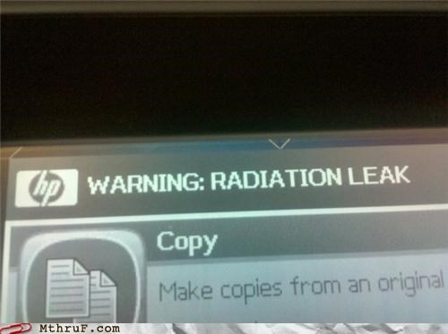 Warning: Radiation Leak