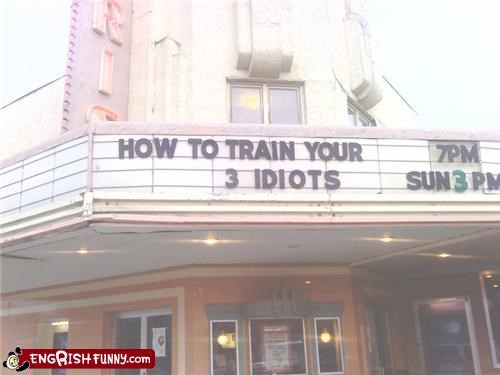 How to train your 3 Idiots