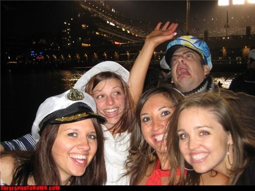 awesome,girls,on a boat,that guy