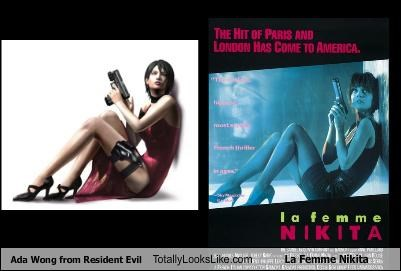 ada wong,Anne Parillaud,la femme nikita,Movie,Nikita,resident evil,video game