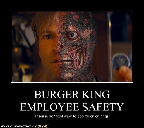 BURGER KING EMPLOYEE SAFETY