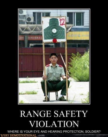 RANGE SAFETY VIOLATION