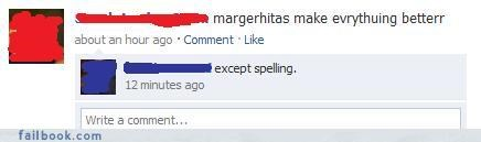 Margaritas Make Spelling Awesome