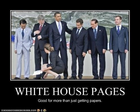 WHITE HOUSE PAGES